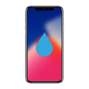 iphone x liquide repair